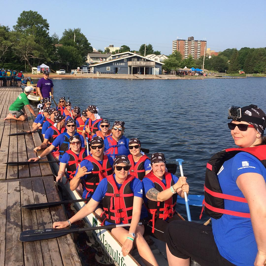 Dragonboat racing in Halifax