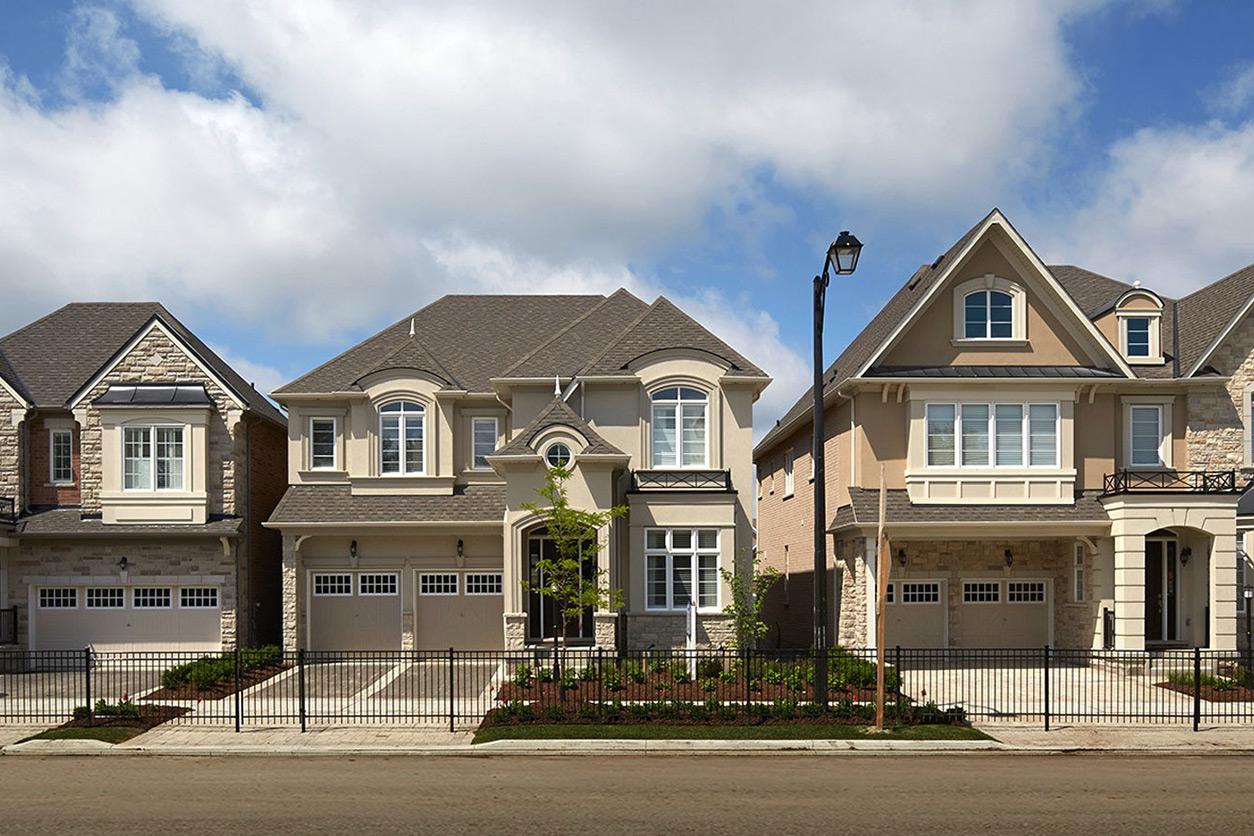 Homes on quiet street