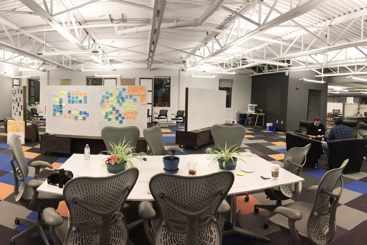 T4G Innovation Space in Halifax Office